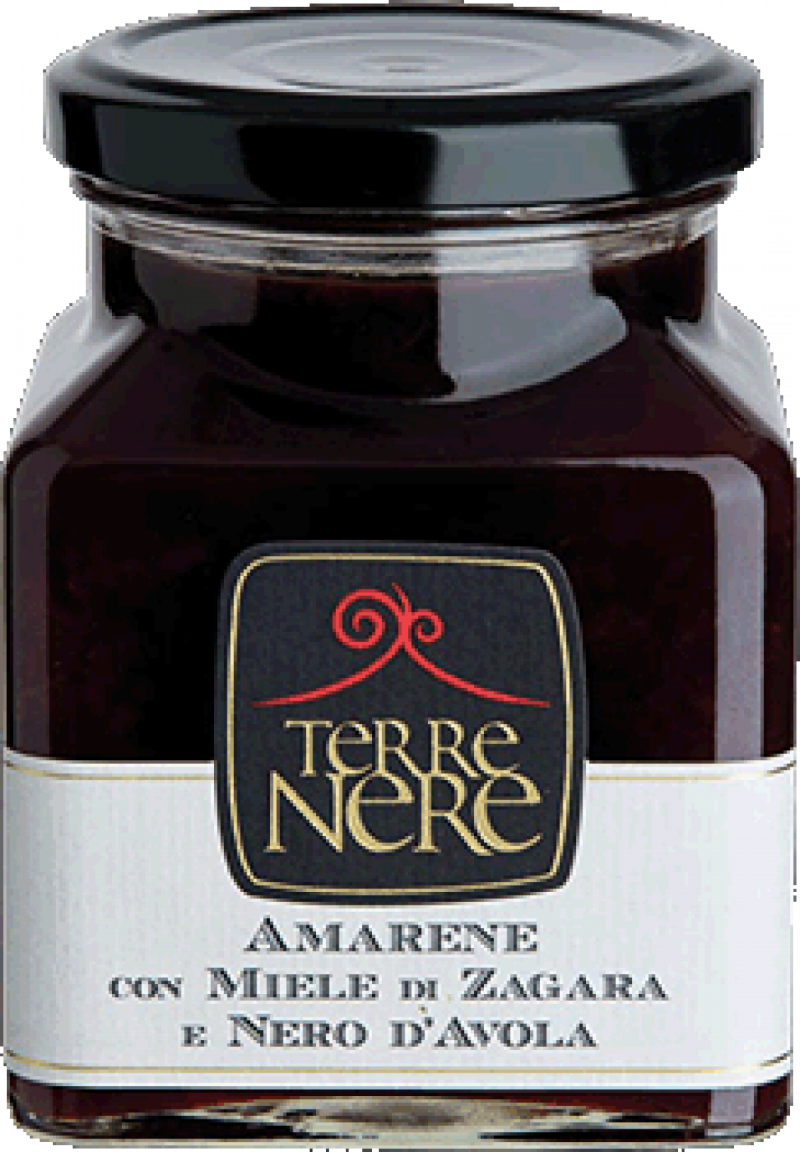 Black-Cherries-with-Orange-Blossom-Honey-and-Nero-d'Avola-Wine